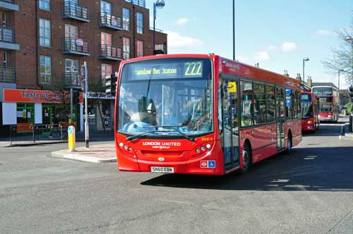 London Bus Route 222