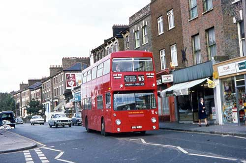 London Bus Route W3