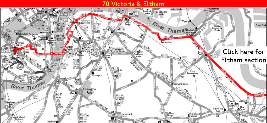 The Greater London Bus Map