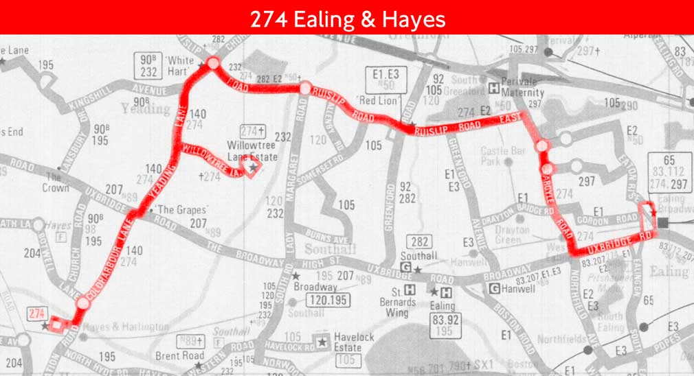 London Bus Route 274