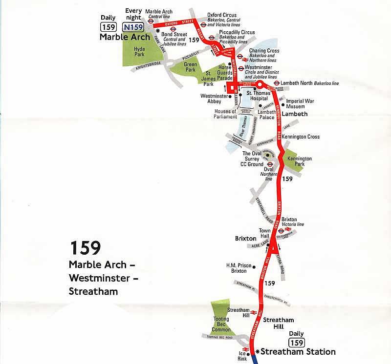 London Bus Route 159